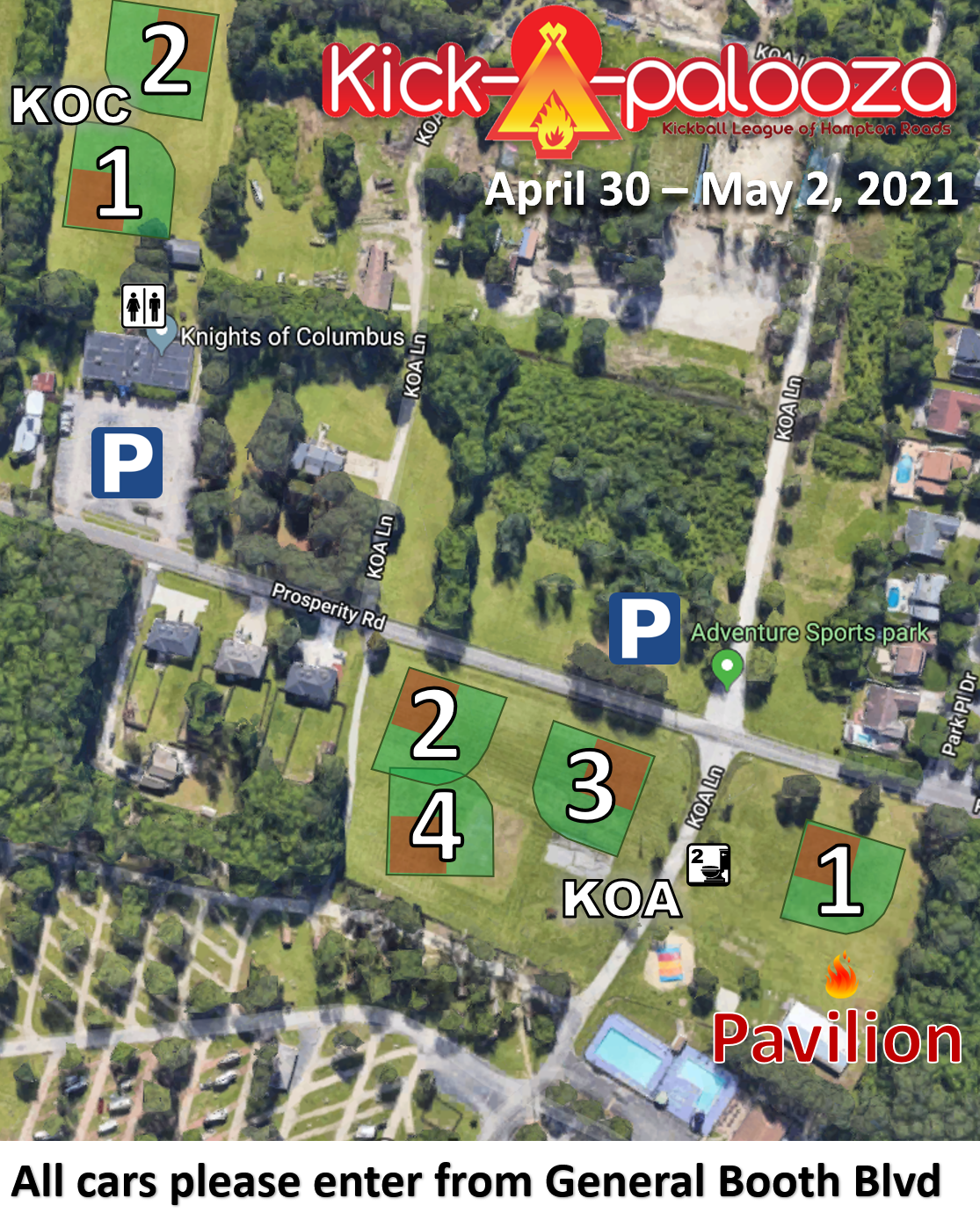 2021 Event Map